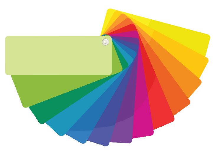 Graphic Design Studio Color Fan