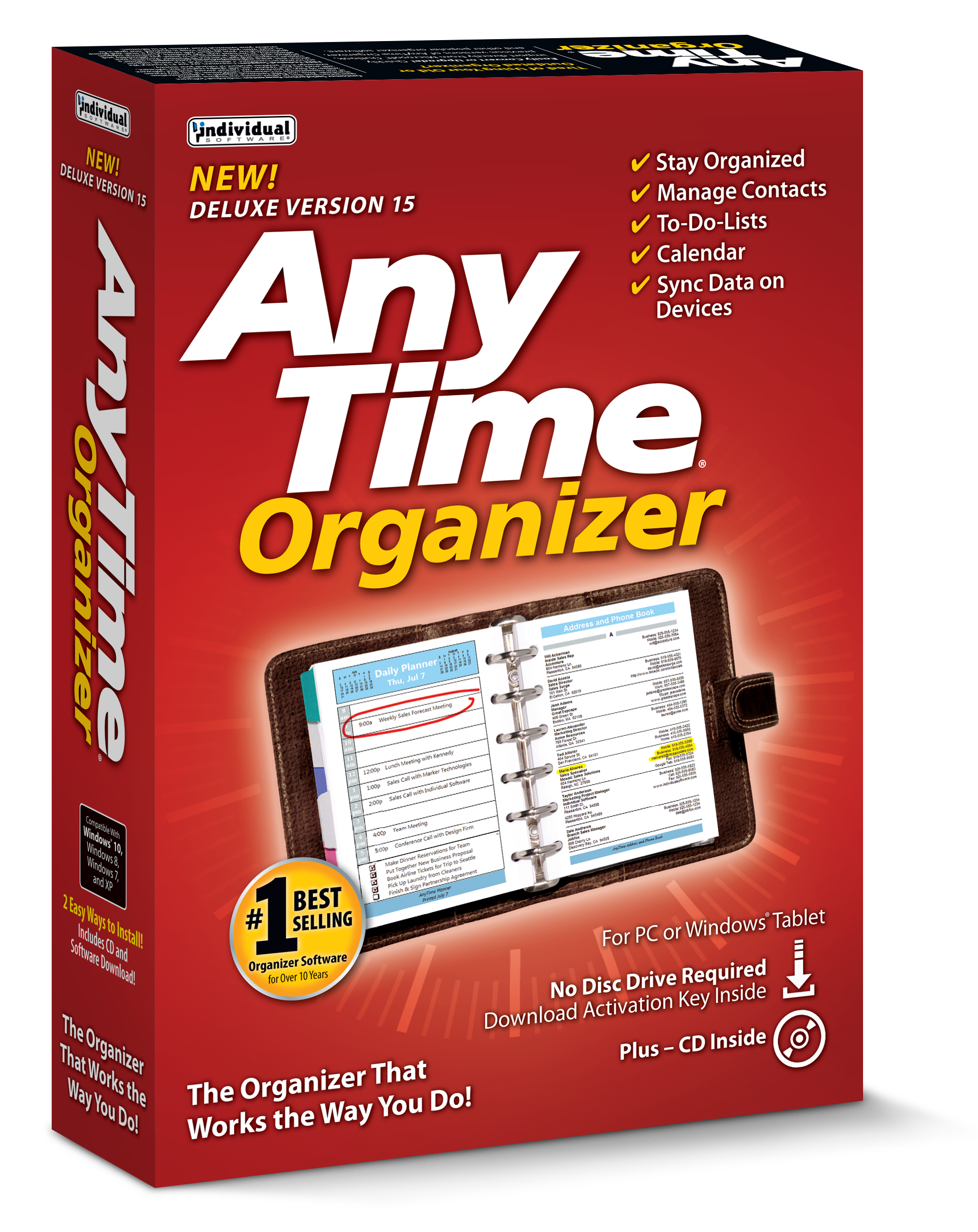 AnyTime Organizer 15 Deluxe box