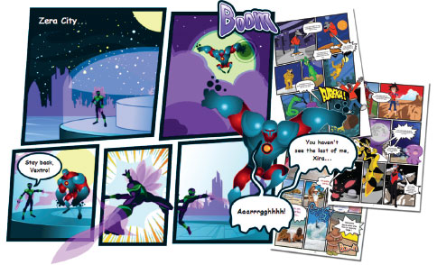 Comic Creator - create comics