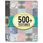 500 Textures - box