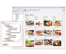 Cookin  - make menus shopping lists