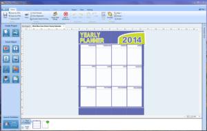Print Shop Pro - calendar