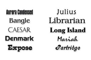 Print Shop Pro - fonts