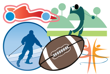 sports art clipart 1 selling logo software for over 15 years rh summitsoft com dog graphics and clipart girl scout graphics and clipart