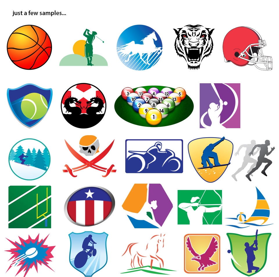 Sports Art - sample sheet