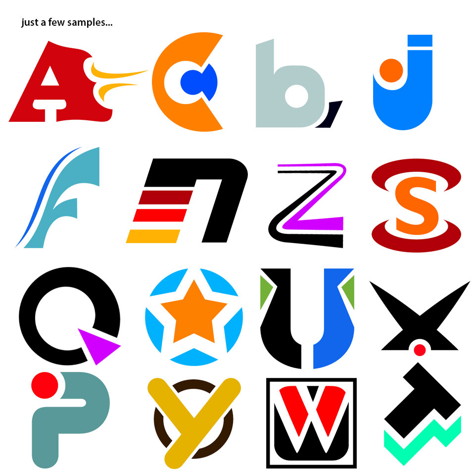 Alphabet Art 2 - samples