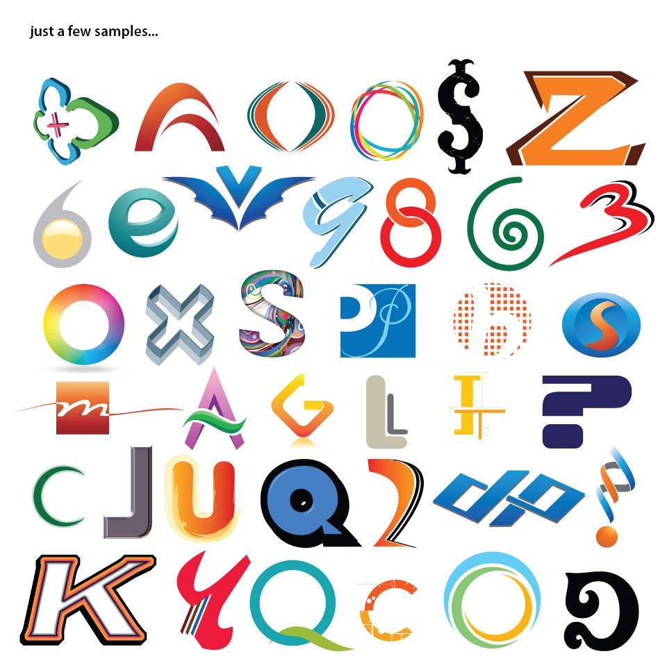 Alphabet Art Plus Numbers | #1 Selling Logo Software for