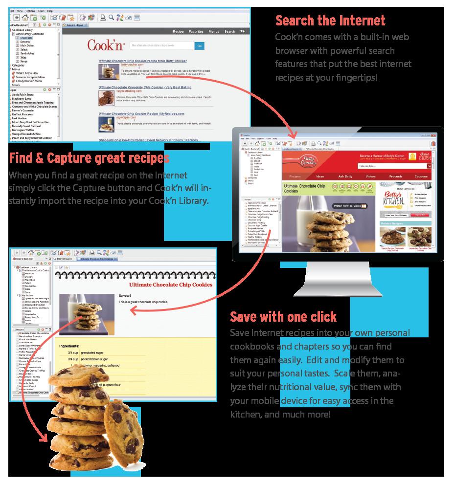 Cookin  - capture recipes