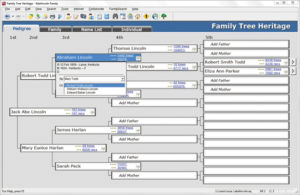 Family Tree Heritage - screenshot 1