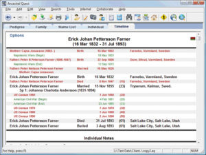 Family Tree Heritage - screenshot 2