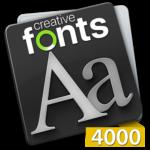 Creative Fonts - 4000
