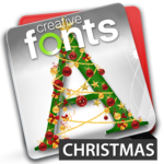 Creative Fonts - christmas