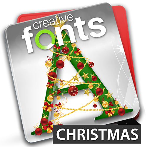 Creative Fonts Christmas