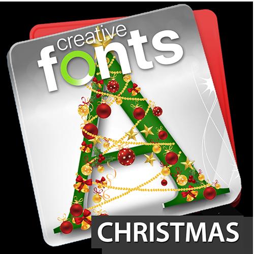 Creative Fonts - christmas