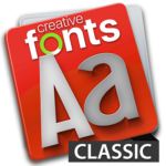 Creative Fonts - classic