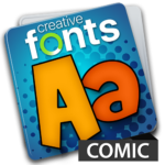 Creative Fonts - comic