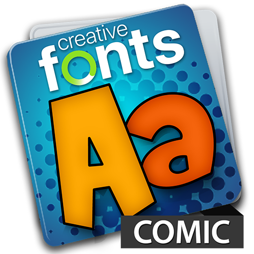 Creative Fonts Comic