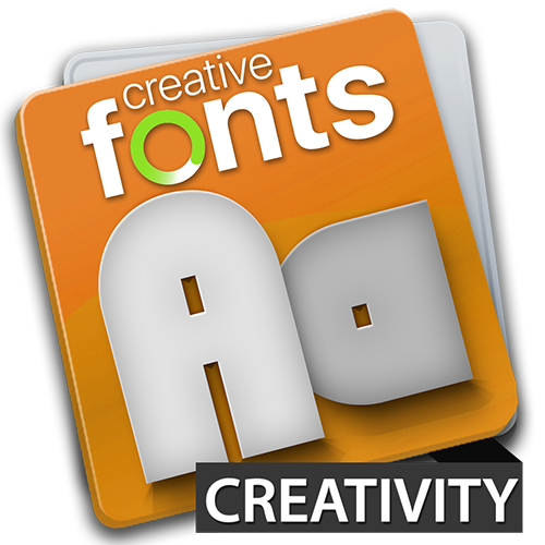 Creative Fonts Creativity