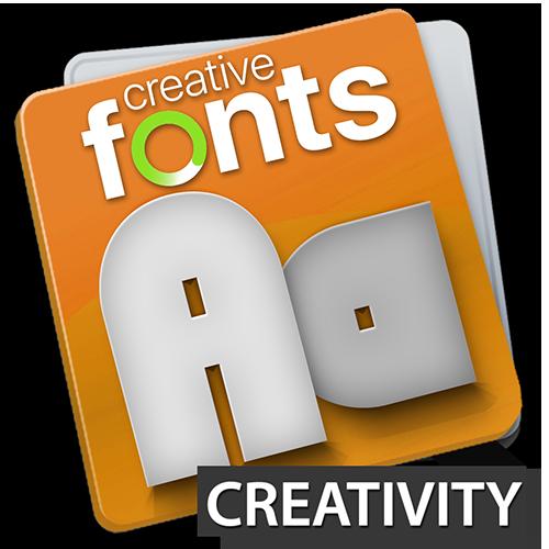 Creative Fonts - creative