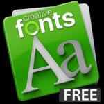 Creative Fonts - free