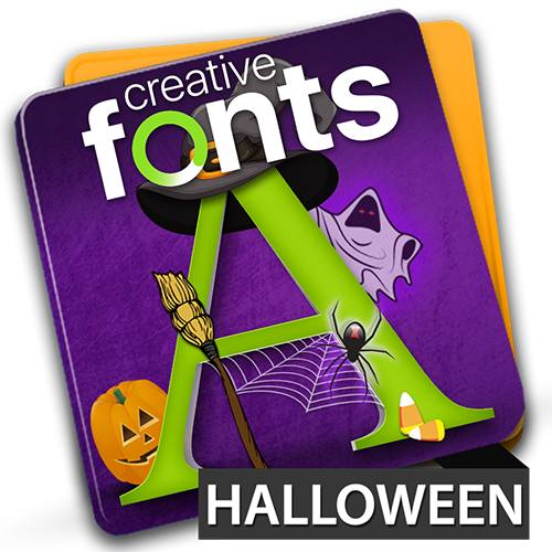 Creative Fonts - halloween
