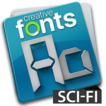 Creative Fonts - sci-fi