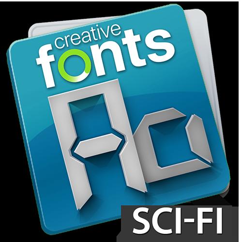 Creative Fonts Sci-Fi