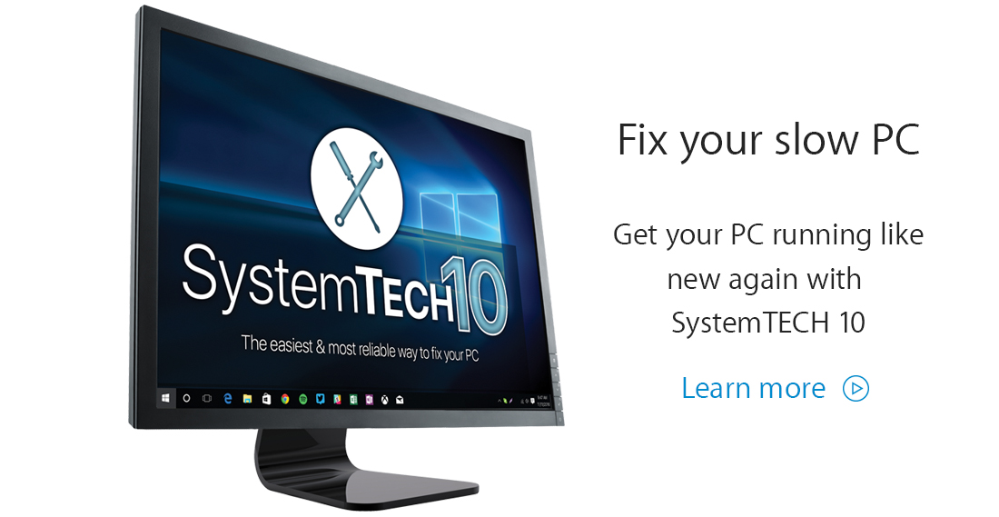 SystemTech 10: Fix your slow PC