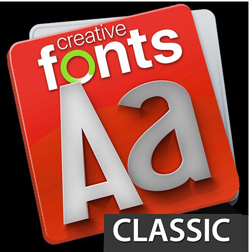 Creative Fonts Classic