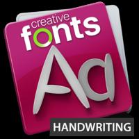creativeFonts-HANDWRITING