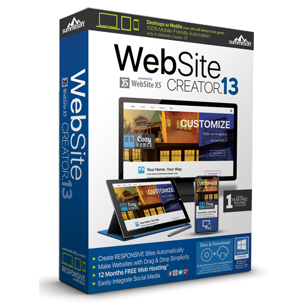 Website Creator Create Fully Responsive Websites In Minutes
