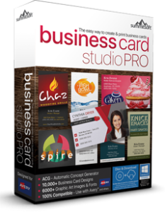 business card studio pro software by summitsoft - Business Card Software
