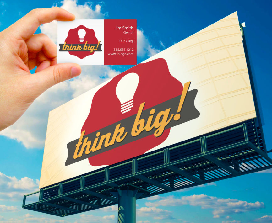 ThinkBig Vector graphic sample