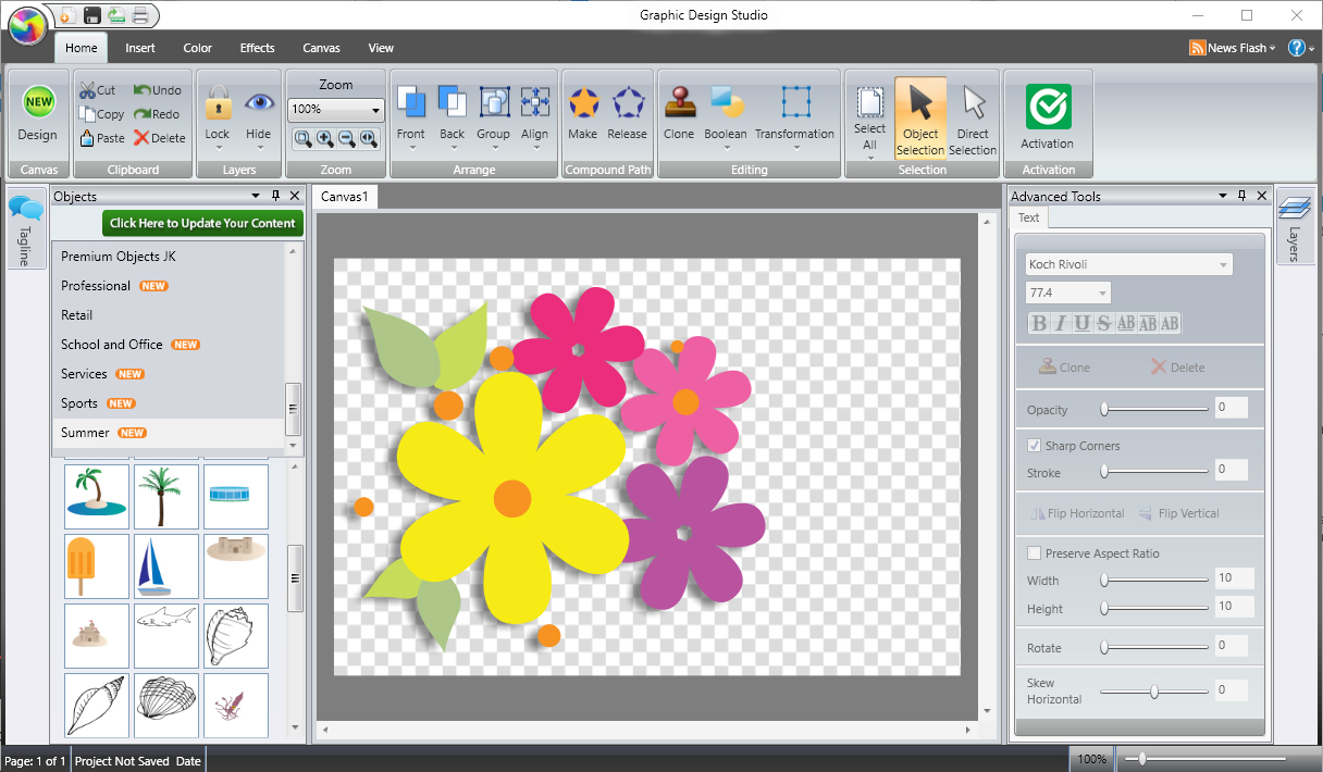 Graphic Design Studio Easy Illustration And Graphic Design Software