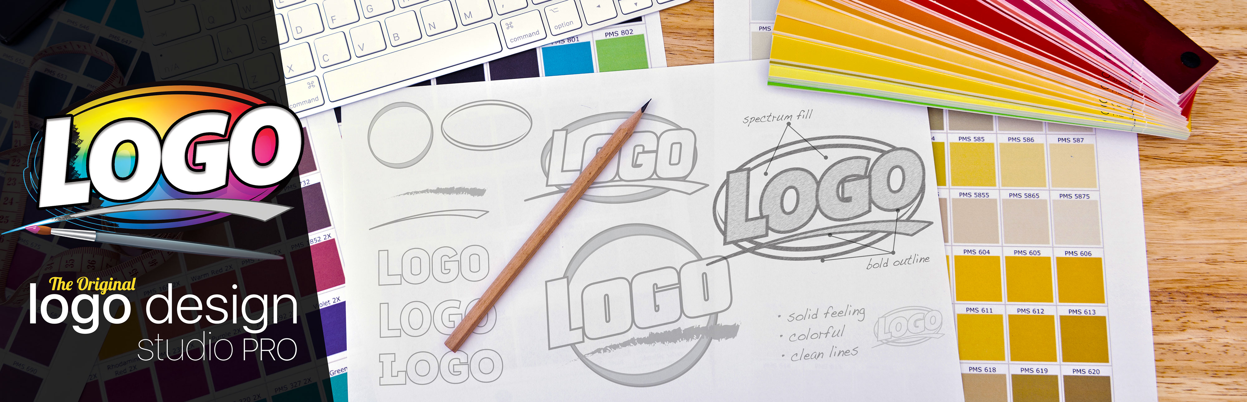 Logo Design Studio Pro Software Page Banner